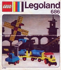 Lego 686 Digger and Tippers