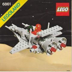 Lego 6861 X1 Patrol Craft