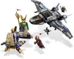 Quinjet Aerial Battle