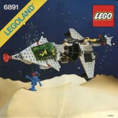 Lego 6891 Gamma V Laser Craft