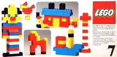 Lego 7 Basic Building Set, 3+