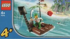 Lego 7070 Catapult Raft