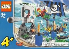 Lego 7074 Skull Island