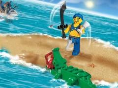 Lego 7080 Scurvy Dog and Crocodile
