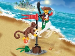 Lego 7081 Harry Hardtack and Monkey