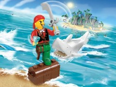 Lego 7082 Cannonball Jimmy and Shark