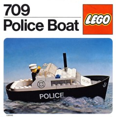 Lego 709 Police Boat