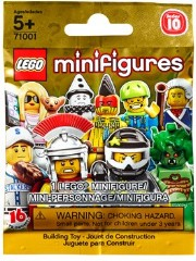 Lego 71001 LEGO Minifigures Series 10 {Random bag}