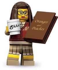 Lego 71001 Библиотекарь