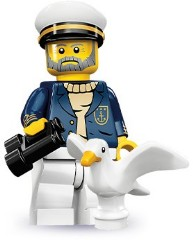 Lego 71001 Sea Captain