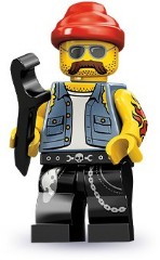 Lego 71001 Механик мотоцикла