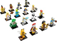 Lego 71001 LEGO Collectable Minifigures Series 10 - Complete (except Mr. Gold)