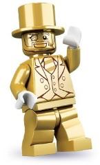 Lego 71001 Золотой человек