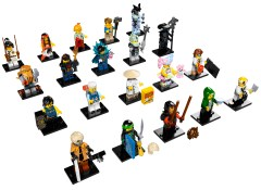 Lego 71019 LEGO Minifigures - The LEGO NINJAGO Movie Series - Complete