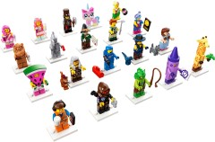 LEGO Minifigures - The LEGO Movie 2: The Second Part - Complete