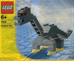 Lego 7210 Long Neck Dino