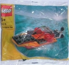 Lego 7218 Boat