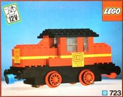 Lego 723 Diesel Locomotive with DB sticker