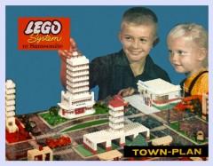 Lego 725 Town Plan