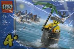 Lego 7290 Captain Kragg in Barrel