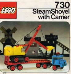 Lego 730 Steam Shovel with Carrier