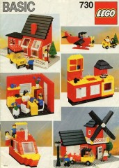 Lego 730 Basic Building Set, 7+