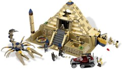 LEGO Pharaohs Quest Mummy Wings with Tan Feathers and Red // Gold Minifig