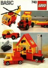 Lego 740 Basic Building Set, 7+