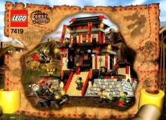 Lego 7419 Dragon Fortress