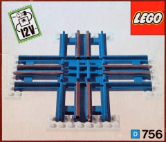 Lego 756 Electric crossing