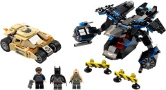 The Bat vs. Bane : Tumbler Chase