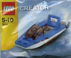 Lego 7610 Speedboat