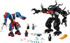 Spider-Man Mech vs. Venom Mech