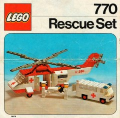 Lego 770 Rescue Set