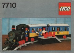 Lego 7710 Push-Along Passenger Steam Train