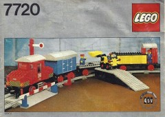 Lego 7720 Diesel Freight Train Set