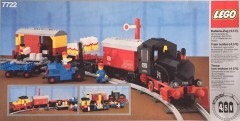 Lego 7722 Steam Cargo Train Set