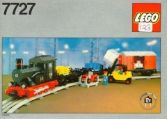 Lego 7727 Freight Steam Train Set
