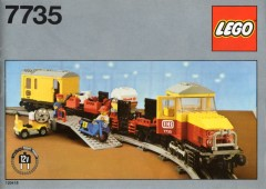 Lego 7735 Freight Train Set