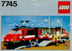 Lego 7745 High-Speed City Express Passenger Train Set