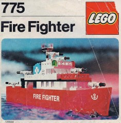 Lego 775 Fire Fighter