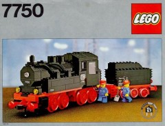 Lego 7750 Steam Engine with Tender