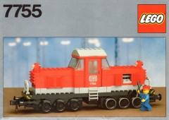 Lego 7755 Diesel Heavy Shunting Locomotive