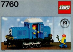 Lego 7760 Diesel Shunter Locomotive