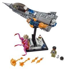 LEGO Lot of 8 Dark Bluish Gray 1x8 Flat Plate Pieces