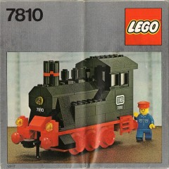 Lego 7810 Push-Along Steam Engine