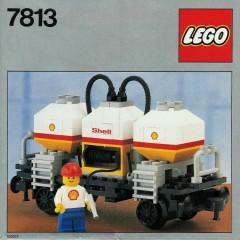 Lego 7813 Shell Tanker Wagon