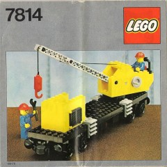 Lego 7814 Crane Wagon