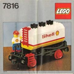 Lego 7816 Shell Tanker Wagon
