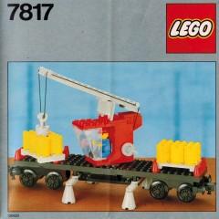 Lego 7817 Crane Wagon